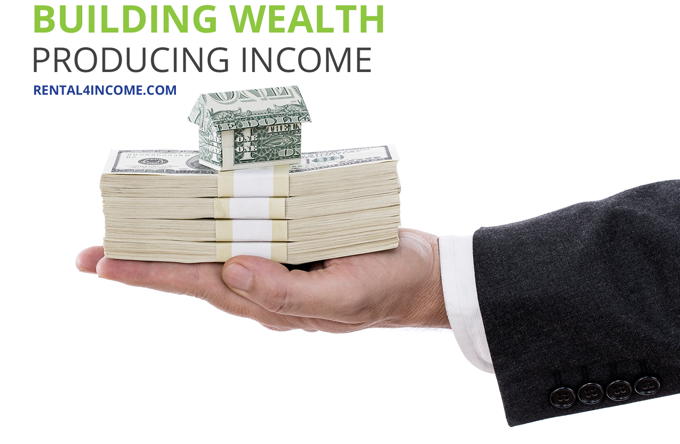 Build wealth with real estate investments.
